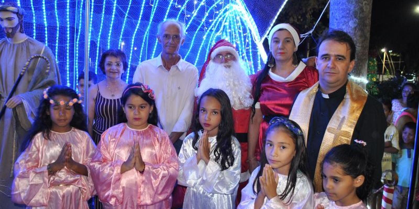 Confira todas as fotos da Inauguração do Natal de Luz