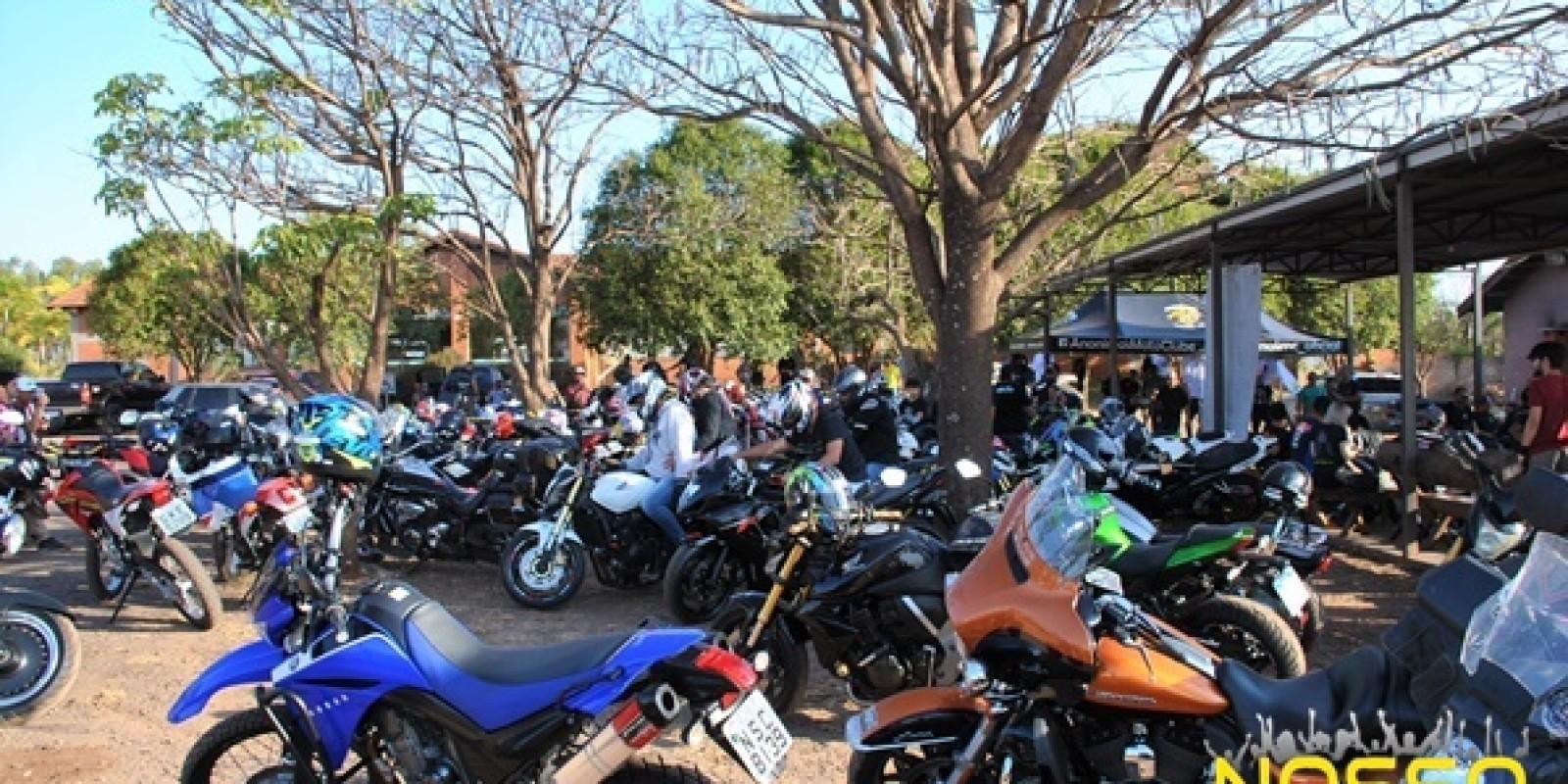 Confira todas as fotos do encontro de motos